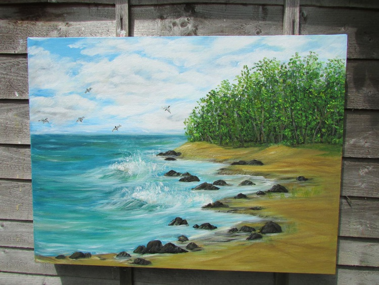 The rocky beach - Image 0