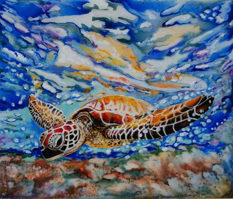 Diving Turtle (ref 1601) -