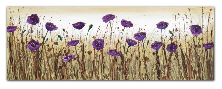 Purple Flower Dance - Image 0
