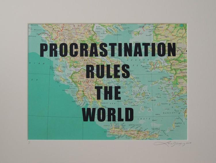 Procrastination rules the world - Image 0