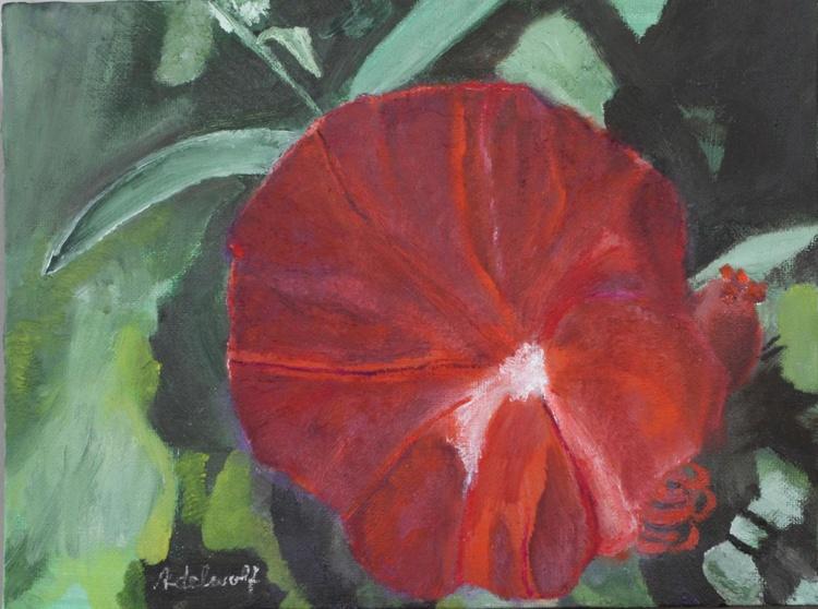 Red Bottle Flower Spirit - Image 0