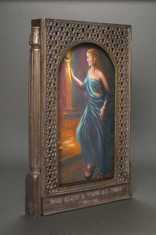 For Such a Time as This, Queen Esther (with sculpted frame) - Image 0