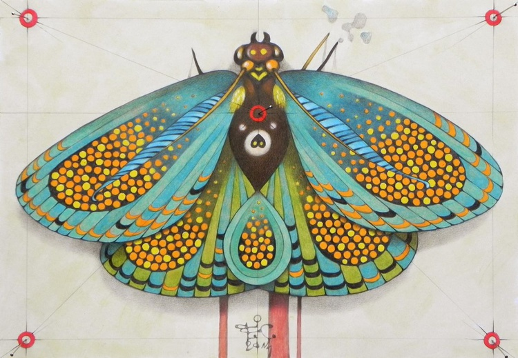 psychedelic butterfly - Image 0