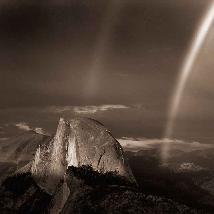 Half Dome & Rainbow -