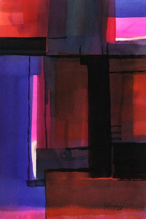Watercolor Abstraction No. 224 - Image 0