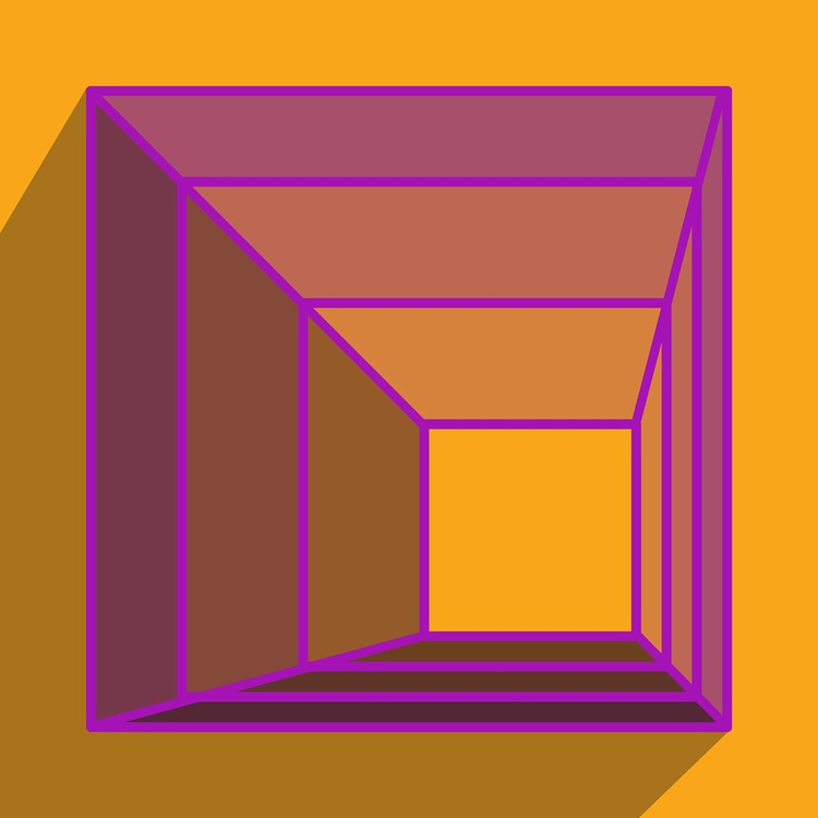 Pyramid in Purple - Image 0