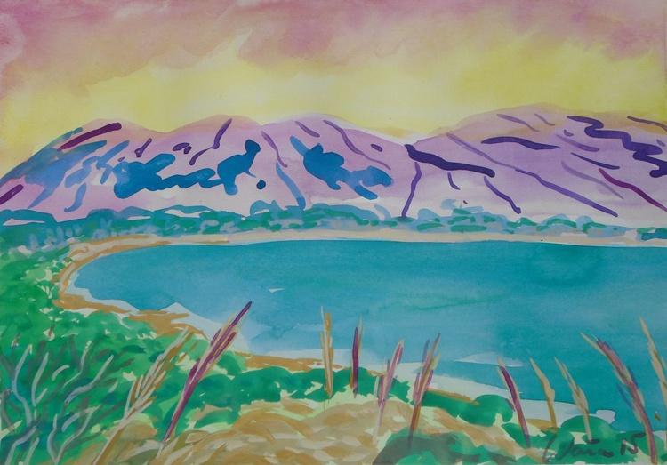 Sunset above Altea Mountains - Image 0