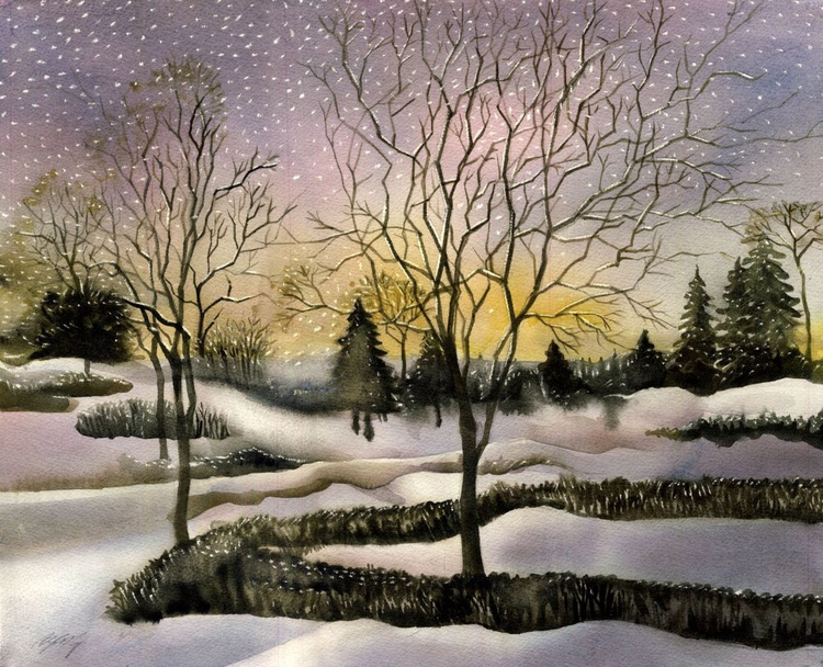 light snow in the morning - Image 0