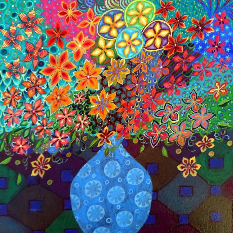 The Little Blue Vase - Image 0
