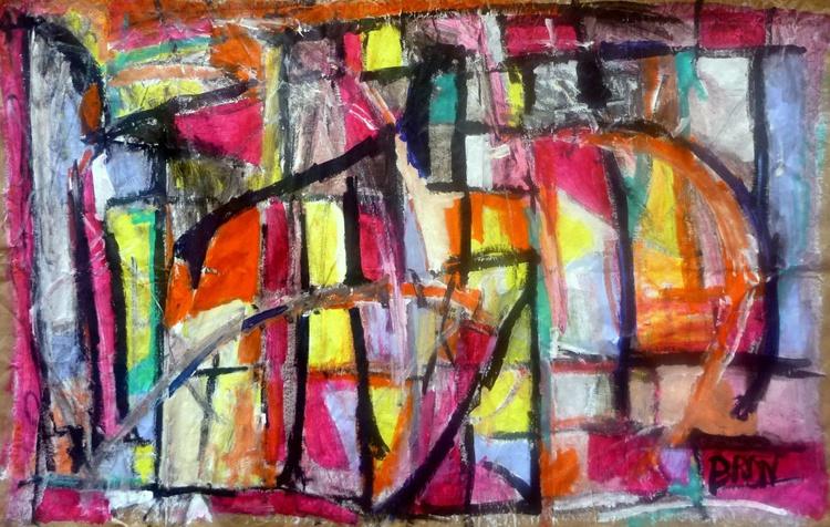Vitrail multicolore - Image 0