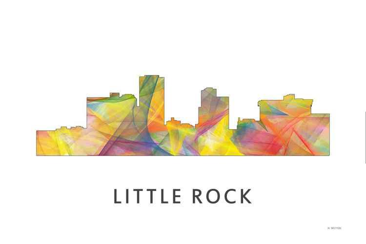 Little Rock Arkansas Skyline WB1 -