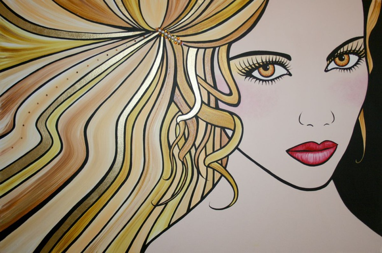 The Girl with the Golden Hair - Image 0