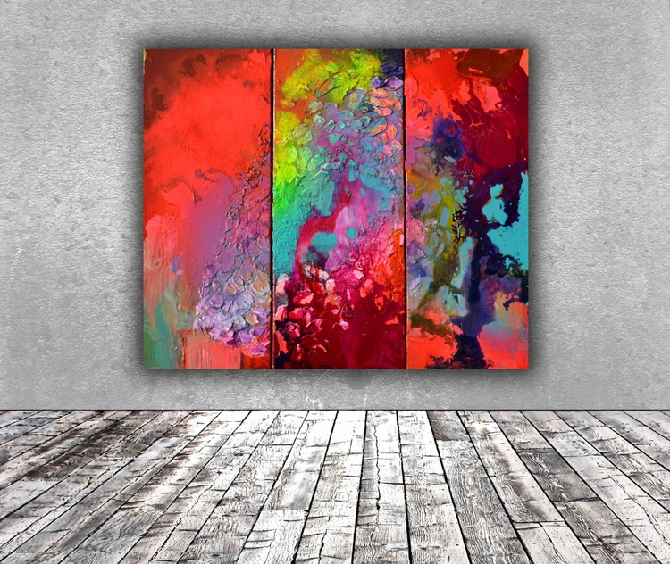 The Energy of Colors - Ready to Hang - Image 0