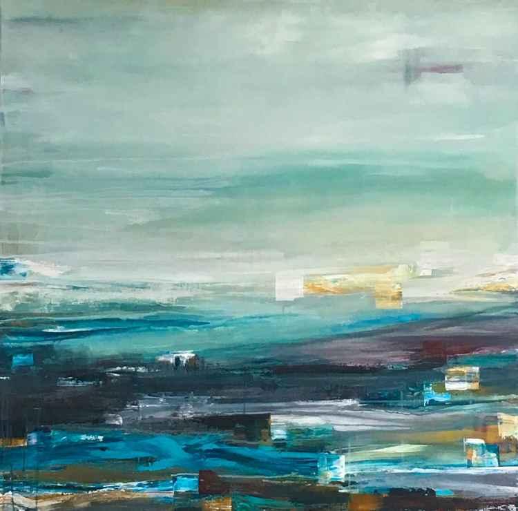 blue fog -