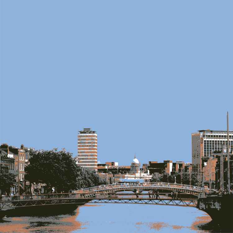 DUBLIN ON THE LIFFEY -