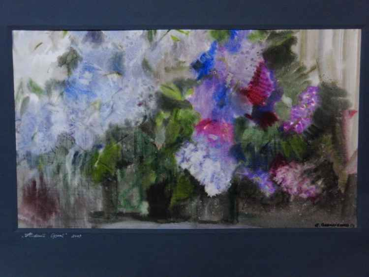 The gentle lilacs -