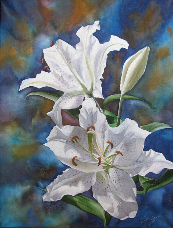 White Lilies - Image 0