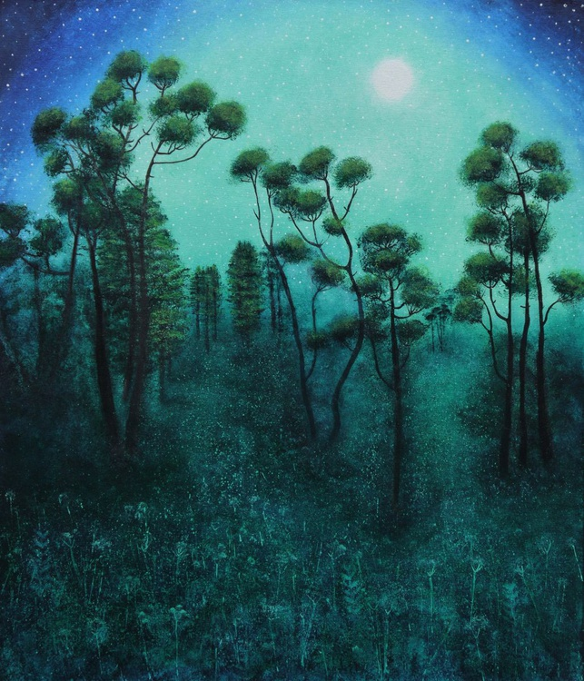 Luna Light on the Pines - Image 0