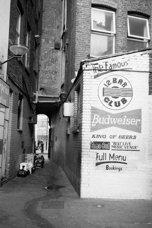 Tin Pan Alley, behind the 12 Bar Club, London - Image 0