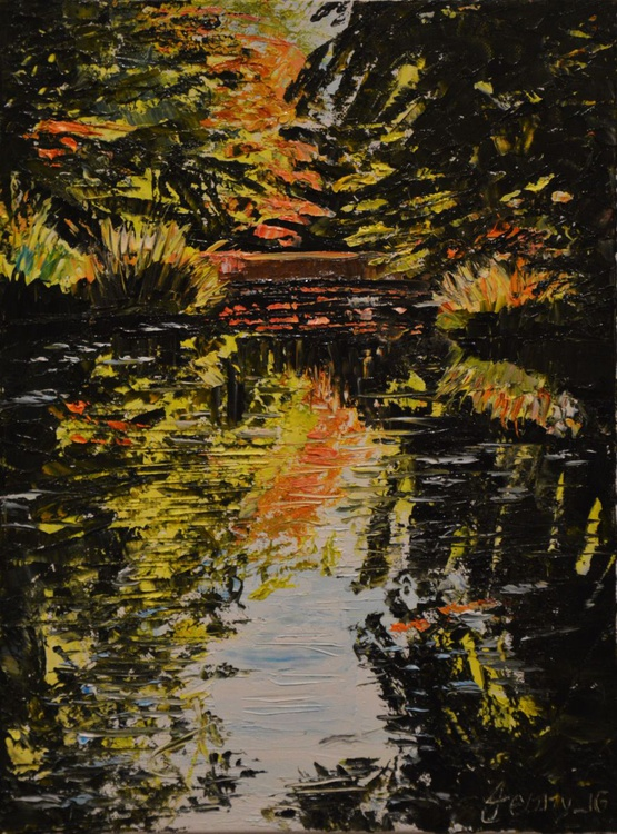 Grand Union Canal Reflections - A Study - Image 0
