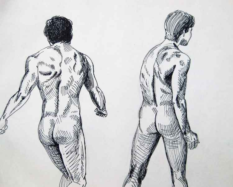 Study of a Male Figure 2