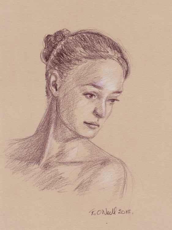 small female portrait