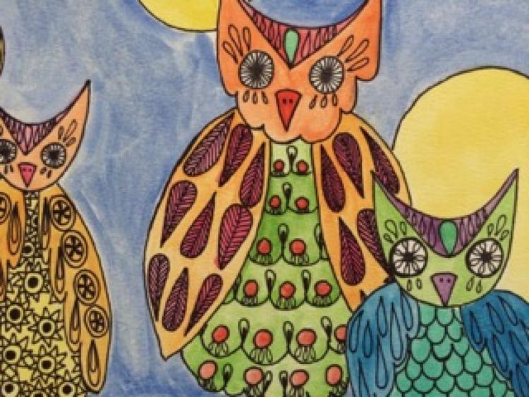 Owls family - Image 0