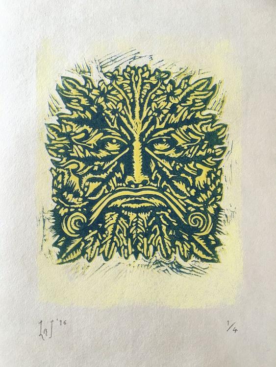 Floret Headed Man - Summer (Four Seasons) - Image 0