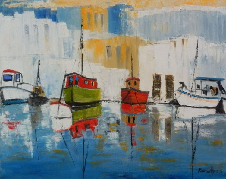 Greece harbour - Image 0