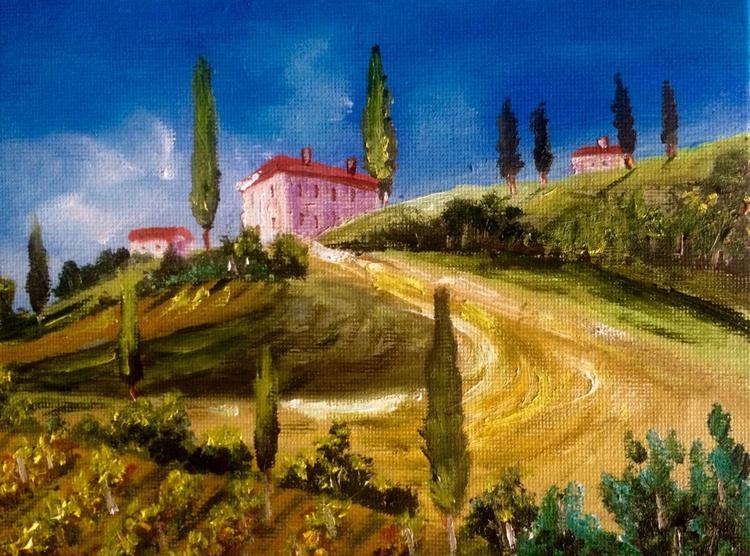 Tuscany hill house - Image 0