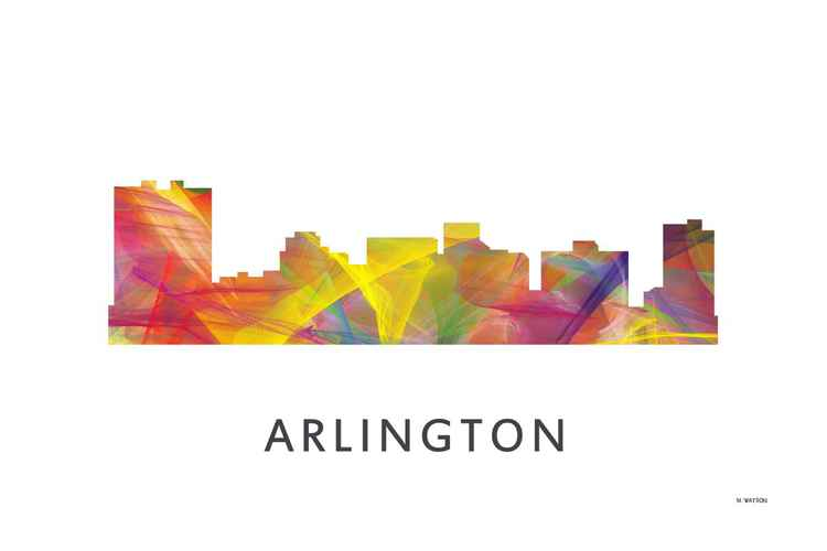Arlington Texas Skyline WB1 -