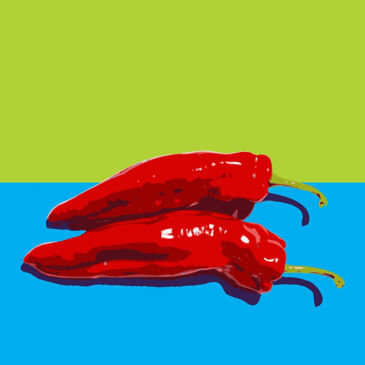 POINTED RED PEPPERS#1 - Image 0
