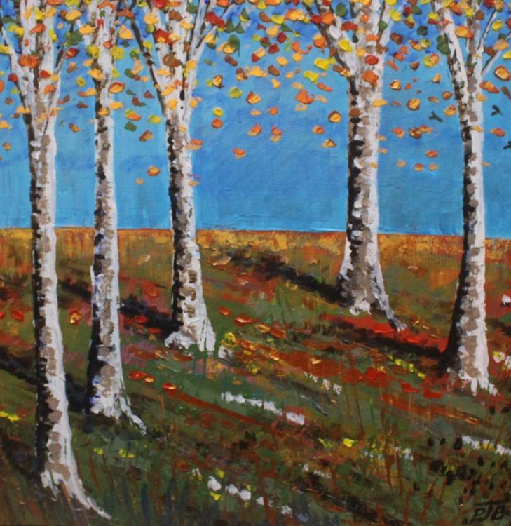 Autumn Birchwood II - Image 0