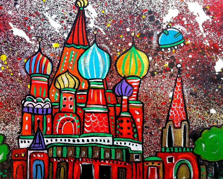 Saint Basil's Cathedral in Space - Image 0