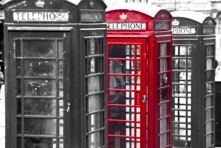 Golden Mile Phoneboxes -