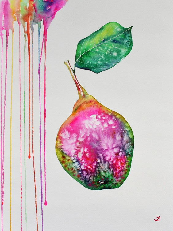 Colorful Pear - Image 0
