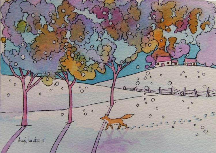 Small winter fox - Image 0