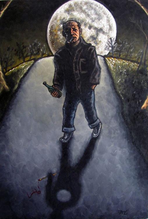 """Moon Over Jackson Pollock"" - Image 0"