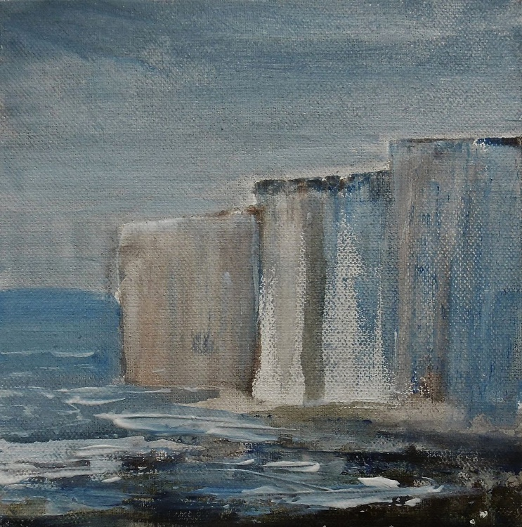 Stormy White Cliffs - Image 0