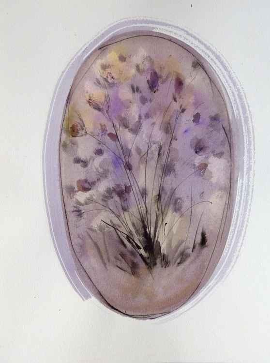 Floral Vignette: Field Flowers, 31x41 cm