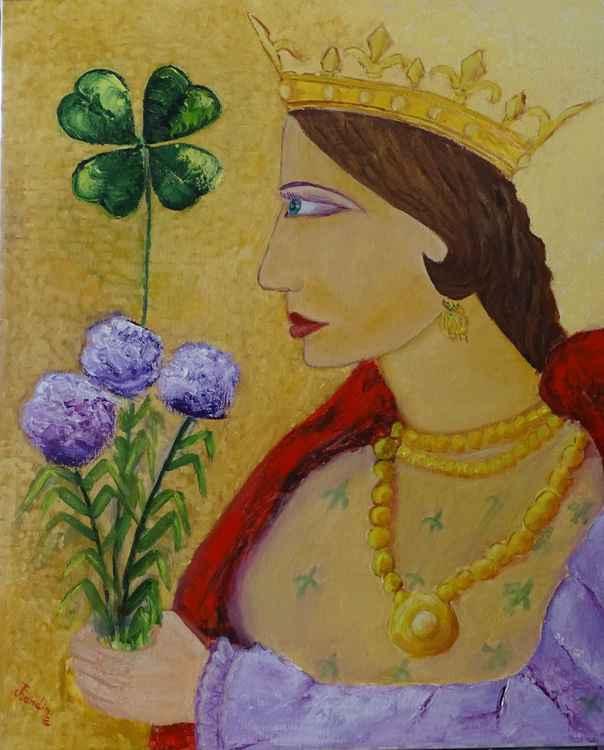 Reina de Trebol -