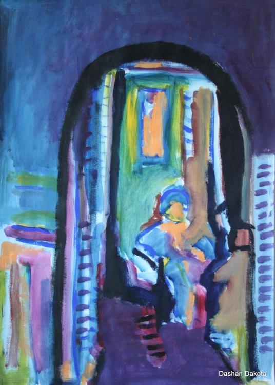 Blue corner - Image 0