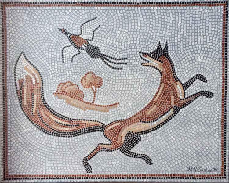 Mosaic Fox
