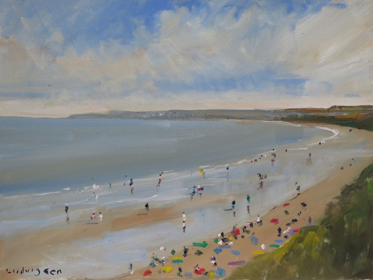 Filey Bay on the Yorkshire Coast. - Image 0