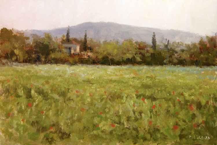 Landscape near Aix en Provence -