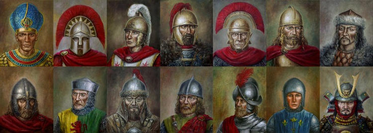 The famous warriors in history - Image 0