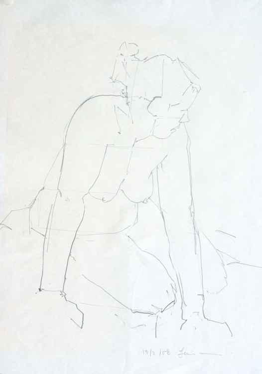 Life Drawing No 62 -