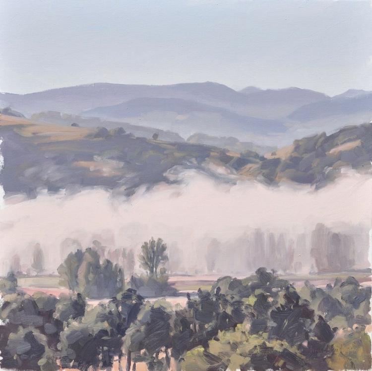 June 23, Roches de Mariol, morning mists - Image 0