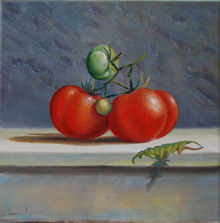 A Bunch of Tomatoes - Image 0