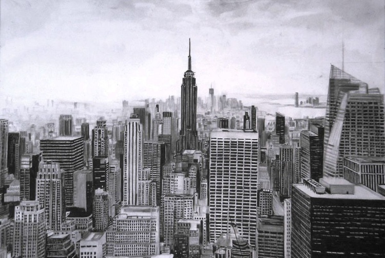 New York drawing - Image 0